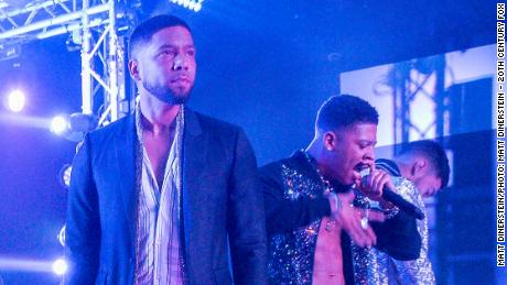 Jussie Smollett and Bryshere Y. Gray in 'Empire' (Matt Dinerstein/FOX)