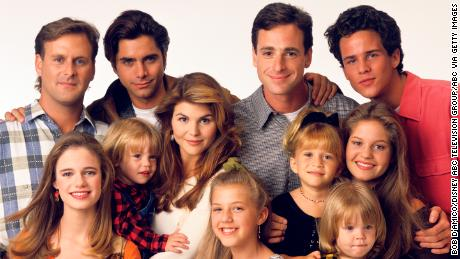 The cast of & # 39; Full House & # 39; in 1993
