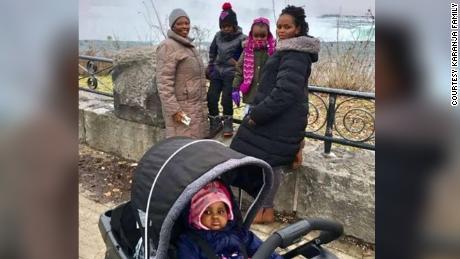 Caroline Karanja, her mother Ann Wangui Karanja, and children Ryan Njoroge, Kellie Pauls, and Rubi Pauls