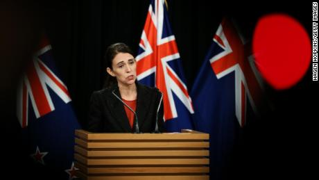Prime Minister Jacinda Ardern spoke after the attack with the media.