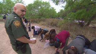 Border Patrol facility over capacity as government struggles to keep pace in the Rio Grande Valley
