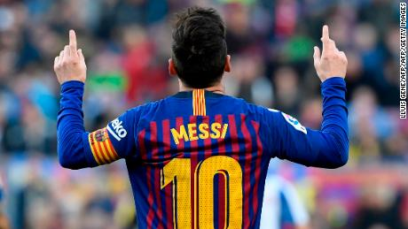 Messi scored 108 Champions League goals, including eight triplets and 30 assists.