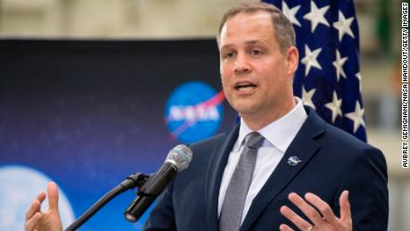 NASA administrator Jim Bridenstine, a former Republican congressman, is following President Donald Trump's orders to accelerate the US' return to the moon and beyond.