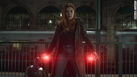Elizabeth Olsen as Scarlet Witch in 'Avengers: Infinity War' (Photo: Film Frame..©Marvel Studios 2018)