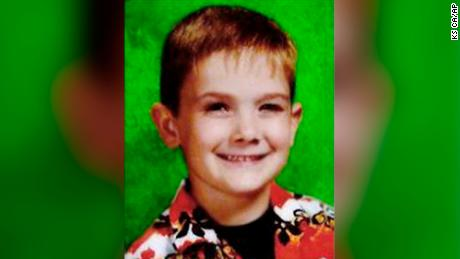 An undated photo shows missing child Timmothy Pitzen.