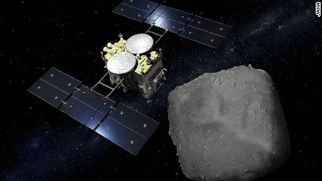 Hayabusa mission: Japanese space probe attempts to 'bomb' asteroid
