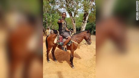 Orlando Moore told fellow resort guests that the hotel bartender recommended a guide for horseback riding.