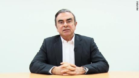 Carlos Ghosn says he's the victim of a conspiracy from Nissan execs