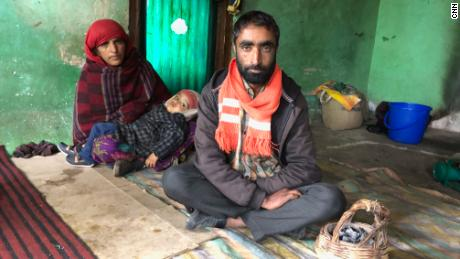 Babur Ali and his wife say they have become refugees in their own land.