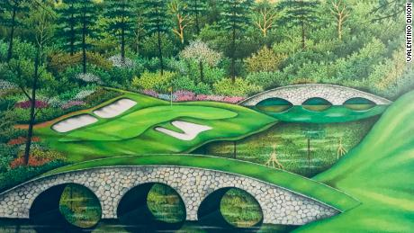 Valentino Dixon: How art and golf freed innocent man from life sentence