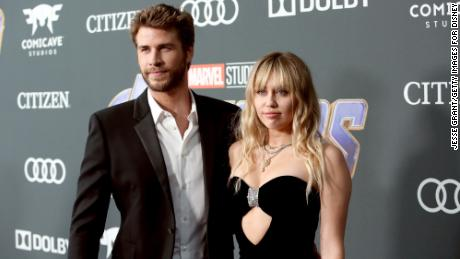 Miley Cyrus and Liam Hemsworth separate, People reports
