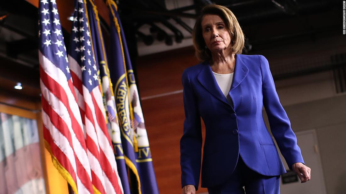 Photo of Pelosi says she will not leverage government shutdown to avoid Senate vote on court seat