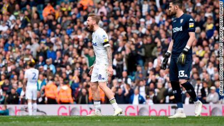 Leeds defender Pontus Jansson was furious with his manager's orders to let Aston Villa score.