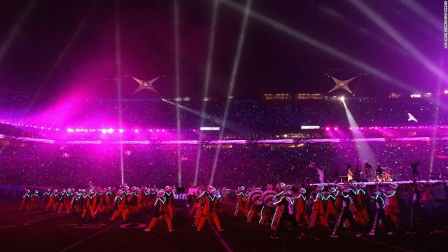 Prince performed with the Florida A&M University marching band during the Super Bowl halftime show in 2007.