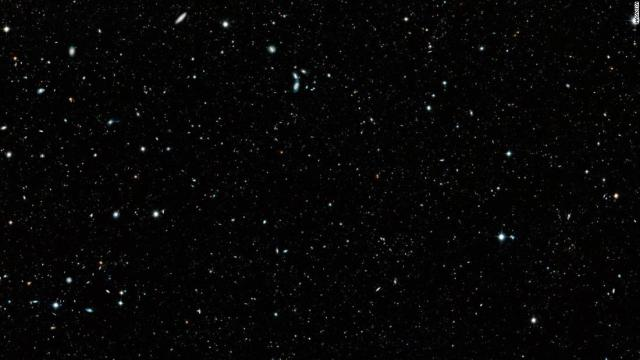 Astronomers developed a mosaic of the distant universe, called the Hubble Legacy Field, that documents 16 years of observations from the Hubble Space Telescope. The image contains 200,000 galaxies that stretch back through 13.3 billion years of time to just 500 million years after the Big Bang.