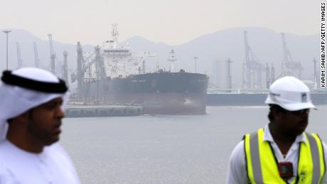 """Four ships targeted in mystery """"sabotage attack,"""" says UAE"""