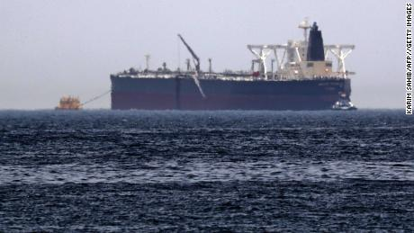 The crude oil tanker Amjad  was damaged in attacks near  Fujairah in May.