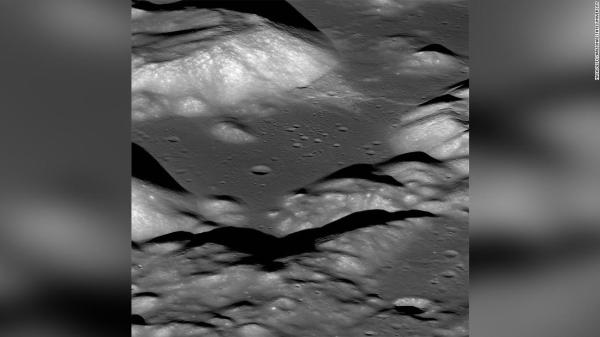 Earths moon is shrinking and quaking study says CNN
