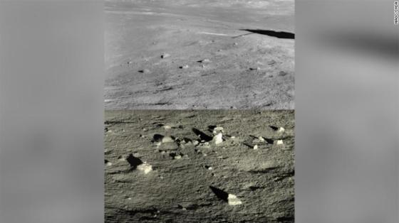 Another perspective on the landing site.