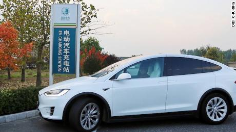 State Grid's new deal with Didi will allow drivers to look for electric vehicle charging stations on the app.