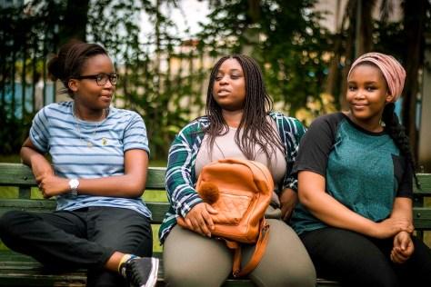 Susan Ubogu, Temitayo Asuni and Kudirat Abiola are fighting child marriage in Nigeria