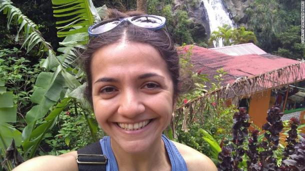 Fereshteh Abbasi moved with her American husband to Grenada for him to attend medical school, but now is stuck in administrative processing and is not cleared to return to the US.