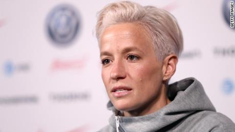 US soccer star Megan Rapinoe says she's 'not going to the f*****g White House' if the women's  team wins the World Cup