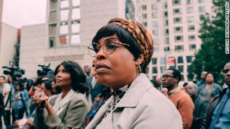 "Niecy Nash in ""When They See Us."" The miniseries is split into four parts."