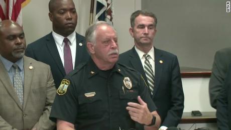 Virginia Beach Police Chief James Cervera