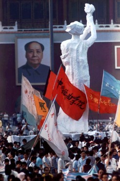 Tiananmen Square: How the 'Goddess of Democracy' became a symbol ...
