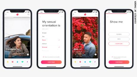 Tinder adds sexual orientation feature to aid LGBTQ matching