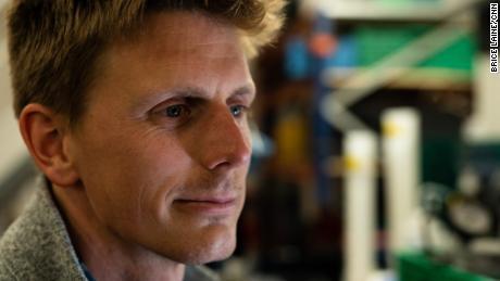 Biological oceanographer Mattias Cape.