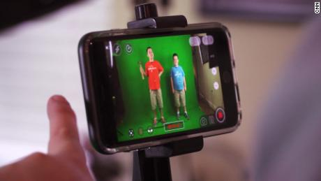 """The """"Go Go Brothers"""" shoot their web series on an iPhone."""
