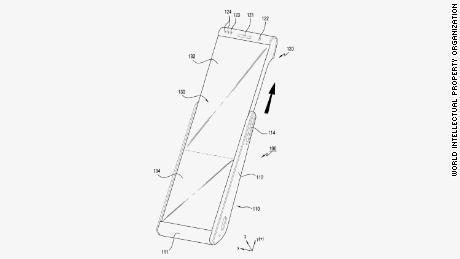 Samsung's stretcy phone concept