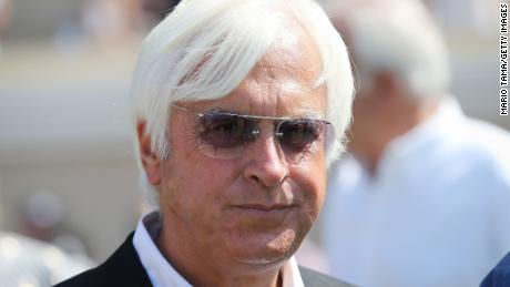 Trainer Bob Baffert says injuries are possible in any sport.