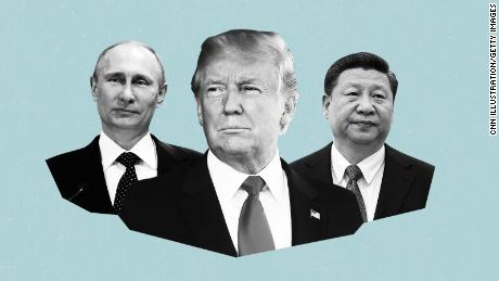 Trump's G20 orbits around Xi, Putin and other world leaders