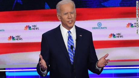Swalwell urges Biden to 'pass the torch,' Biden says 'I'm still holding onto that torch'