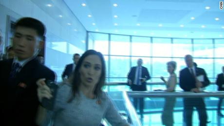 Stephanie Grisham bruised in 'an all out brawl' with the North Koreans