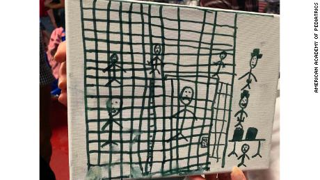 Smithsonian interested in obtaining migrant children's drawings depicting their time in US custody