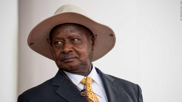 Ugandan President Yoweri Museveni.