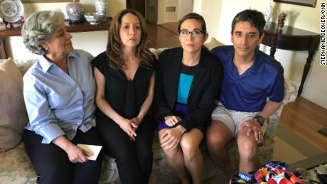 In an interview Friday, four of Meza's family members -- his widow Dr. Tina Nevarez; daughter Lorena Meza; daughter-in-law Dr. Sara Tartof; and son Dr. Francisco Meza -- denied he had cheated.