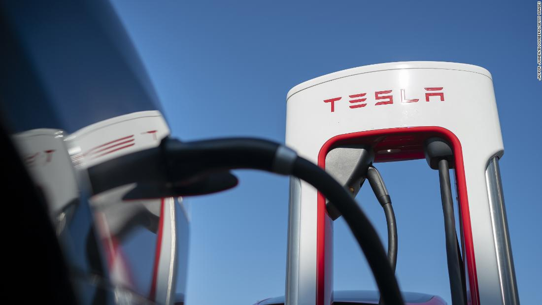 Tesla has used its network of fast chargers as a major selling point for its cars and SUVs.