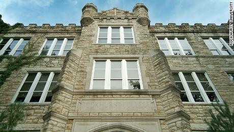 Rockhurst University in Kansas City, where Lindsay was a student before a mysterious illness forced him to drop out in 1999.