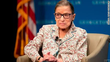 Ruth Bader Ginsburg defends Kavanaugh, Gorsuch as 'very decent and very smart'