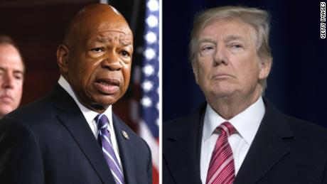 Elijah Cummings was born, raised and has served in for decades the city Trump attacked