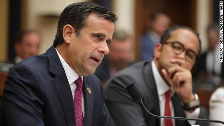 Trump says Ratcliffe is no longer his pick for director of national intelligence