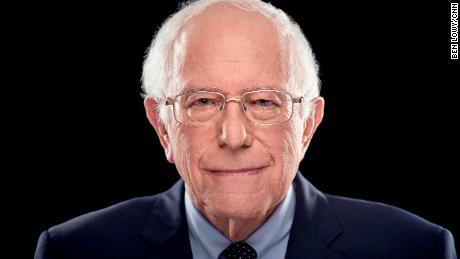 cnn candidate portraits Bernie Sanders