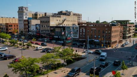 A view of downtown Flint.