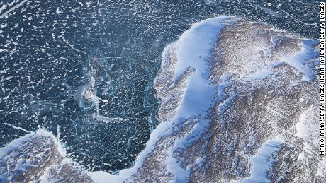 Greenland's massive ice sheet covers nearly 80% of the country, but it's melting fast.