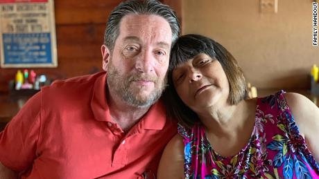 Dave Johnson, left, died protecting his wife Kathy and their granddaughter in the El Paso Walmart shooting.